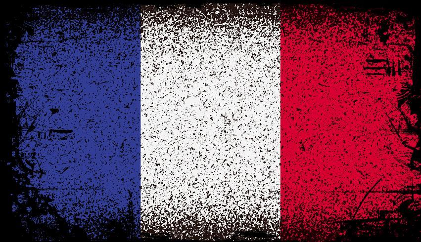 Bandeira do grunge de france