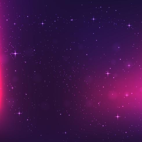 abstrakt rymdbakgrund. vektor bakgrund