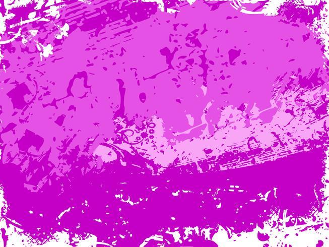 Fundo com textura grunge roxo. Ilustração vetorial