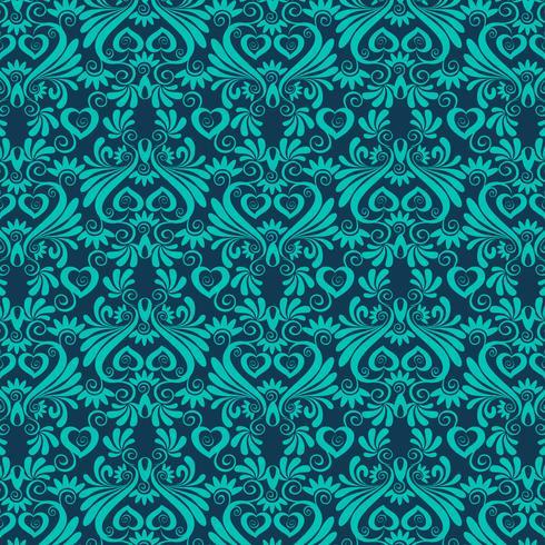 seamless luxury ornamental background. Damask seamless floral pattern. Royal wallpaper.