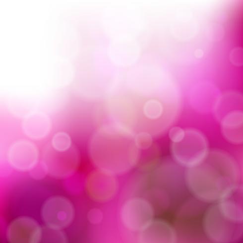 Zusammenfassung unscharfer purpurroter Hintergrund mit bokeh Effekt. Vektor-illustration