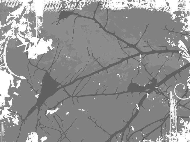 Fondo con textura grunge. Ilustracion vectorial