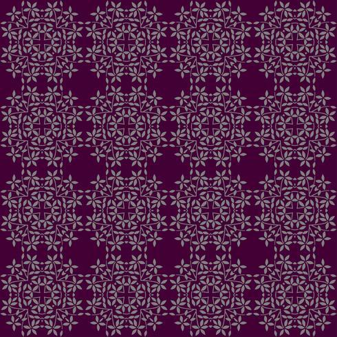 fundo de padrão floral folha com cor de purpple