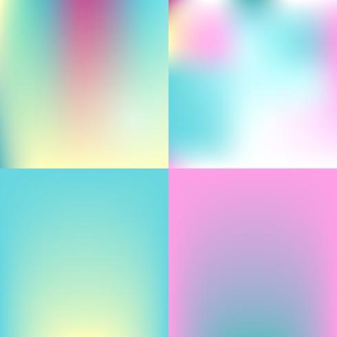 zoete kleur wazig achtergrond instellen. pastel kleur ontwerp