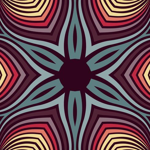 Decorazione astratta di turbinio con la retro priorità bassa di colore