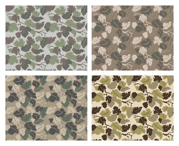camouflage patroon ontwerp met verschillende kleuren