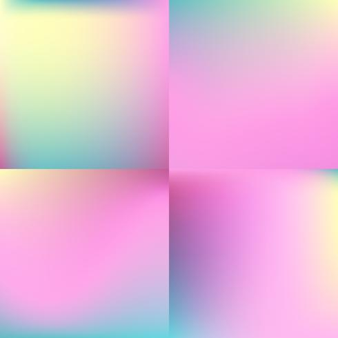süße Farbe unscharfer Hintergrundsatz. Pastellfarbenentwurf