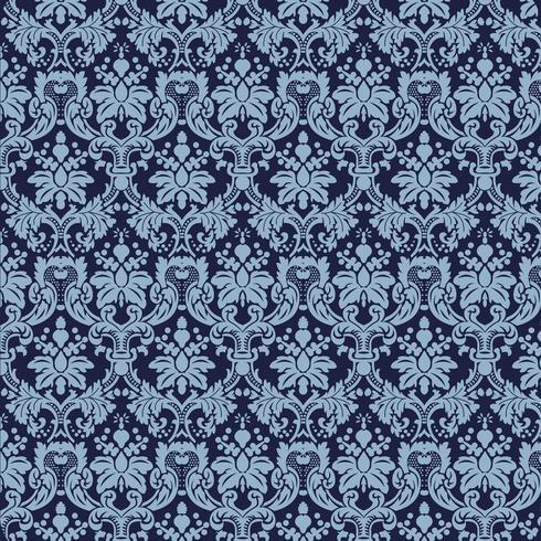 Fond ornemental de luxe Webseamless. Motif floral sans soudure damassé. Papier peint royal.