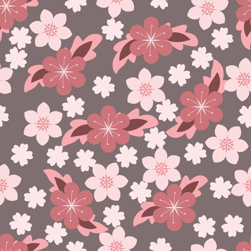 sweet Flower Floral Background vector