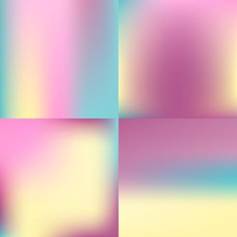 sistema borroso color dulce del fondo diseño en colores pastel
