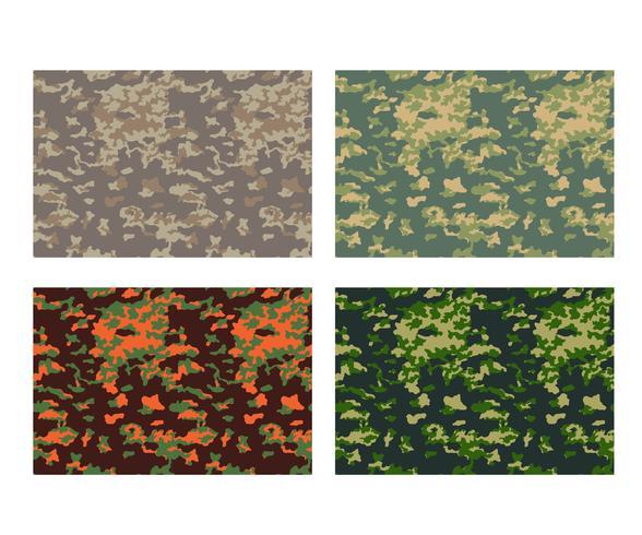disegno del modello del cammuffamento con colore differente