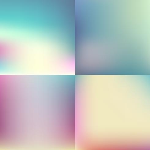 cor doce turva conjunto de fundo. design de cor pastel