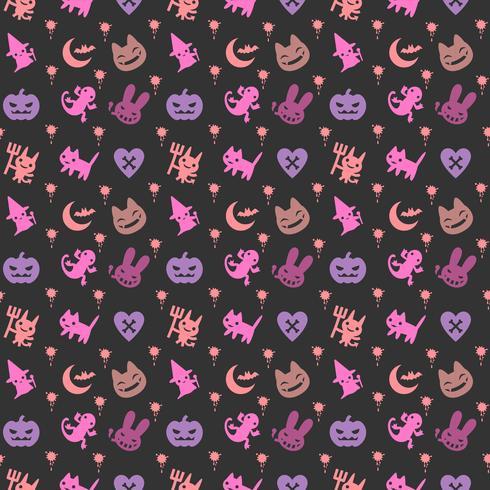 mignon fond d'halloween