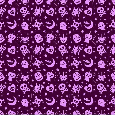 mignon fond d'halloween avec la couleur pourpre
