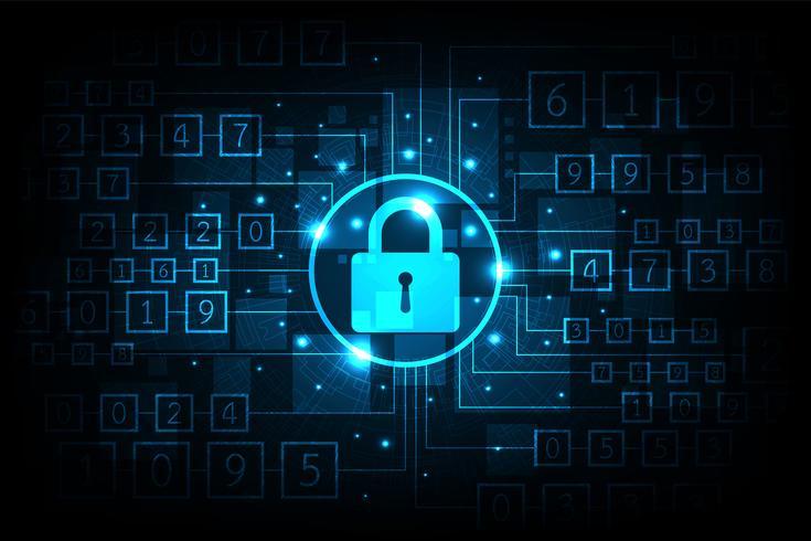 Sécurité sophistiquée des informations numériques.