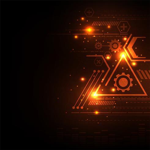 Geometria nel concetto di tecnologia.