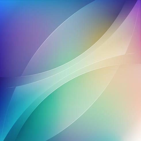 vloeiende kleur transparantie golf achtergrond