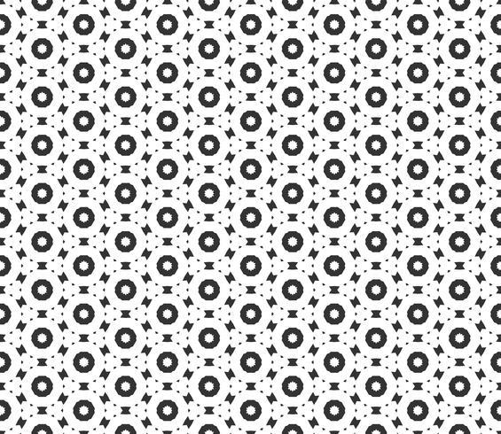 Padrão sem emenda geométrico abstrato. Repetindo a textura preto e branco geométrica. decoração geométrica
