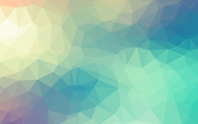 Vecteur lisse bleu clair fond de cristal basse poly. Modèle de conception de polygone. Fond illustration basse poly.