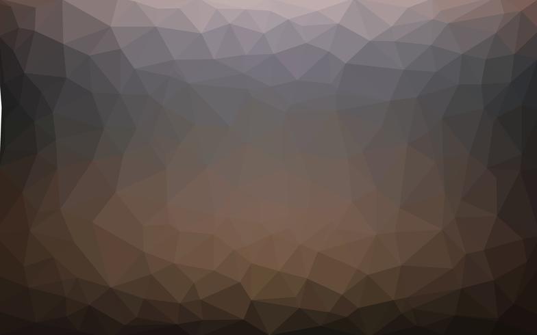 Helldunkler Vektor Niedriger Polykristallhintergrund. Polygon Design pa