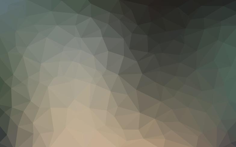 Luz oscura vector de fondo bajo fondo de cristal poli. Poligono diseño pa