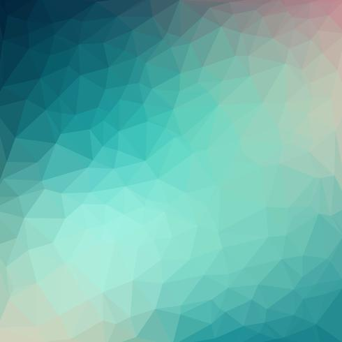 Vector fresco azul claro Fondo de cristal de poli baja. Patrón de diseño de polígonos. Fondo de ilustración de baja poli.