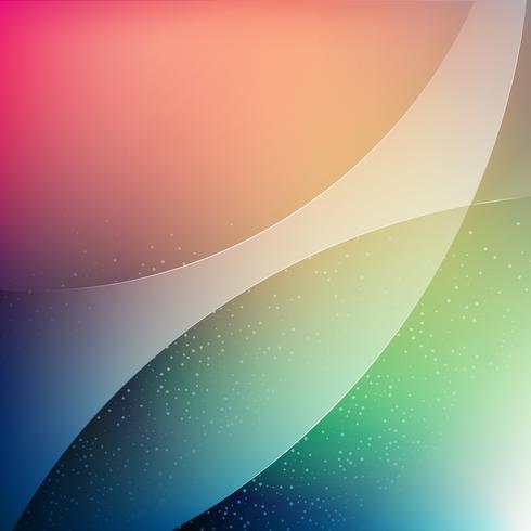 fundo de onda de transparência de cor suave