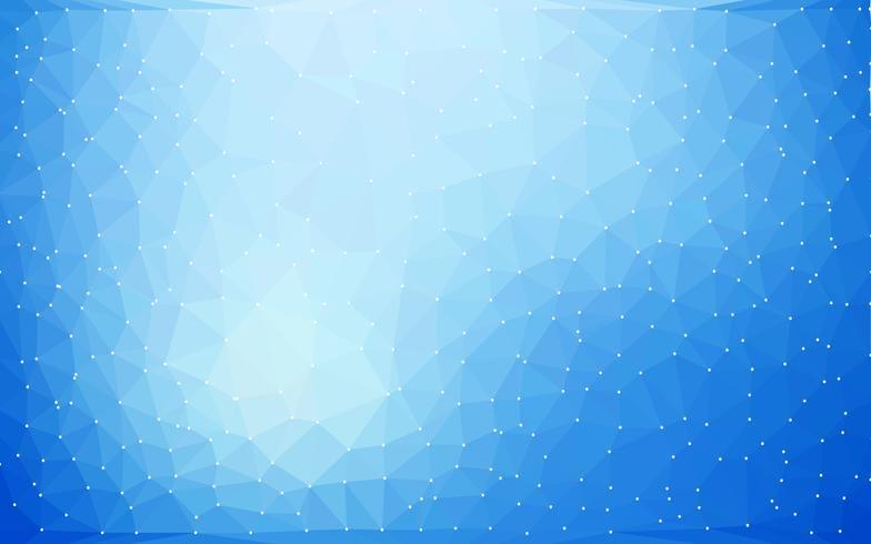 Abstract Vector Low poly coloré avec motif futuriste dégradé cool.