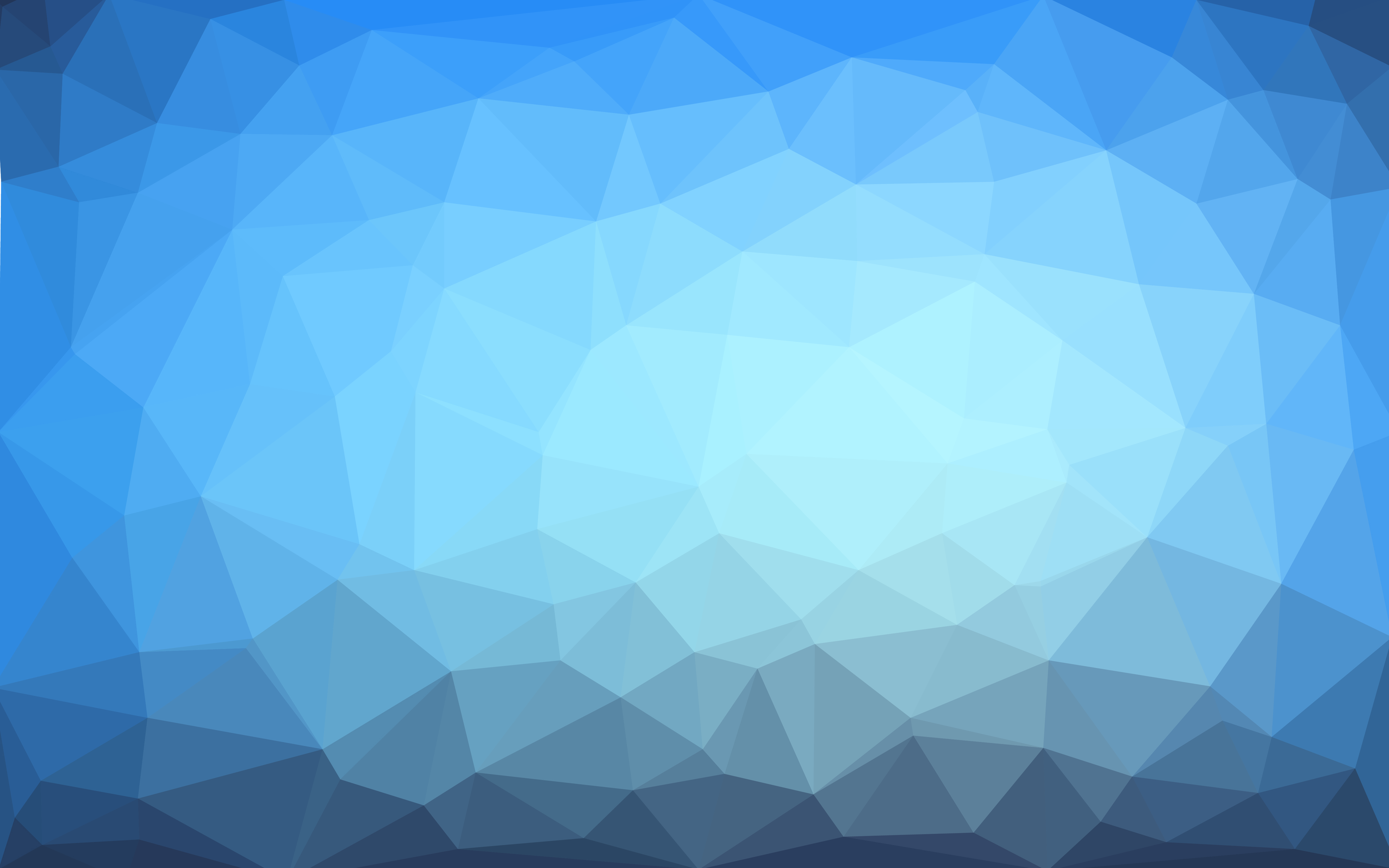 Light Blue Vector Low Poly Crystal Background Polygon