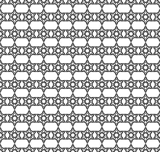 Patrón de línea sin costura decoración abstracta vector fondo diseño