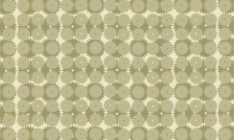 Militaire Camouflage abstracte radertjes versnellingen achtergrondpatroon. ontwerp vectorillustratie