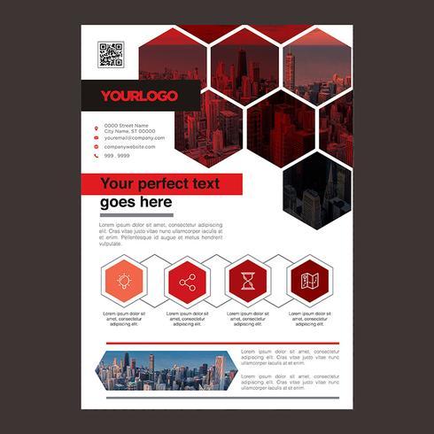 Red Brochure Design aziendale