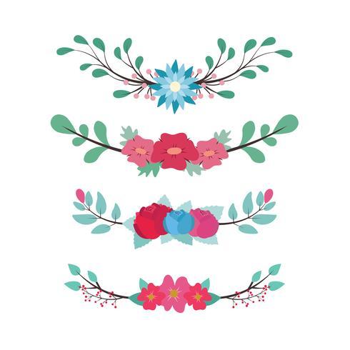 Divisores florales encantadores