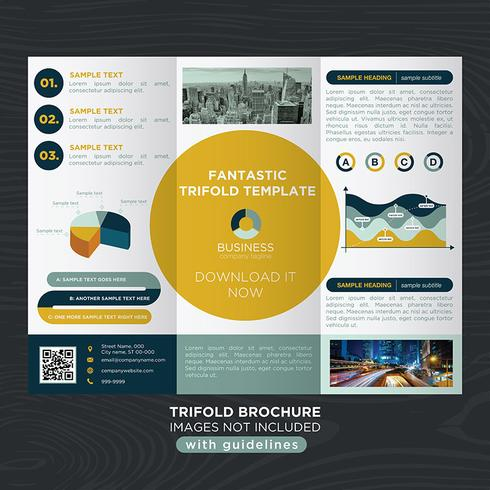 Trifold Business Fold-brochure