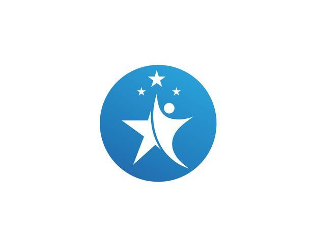 leider karakter logo teken illustratie vector