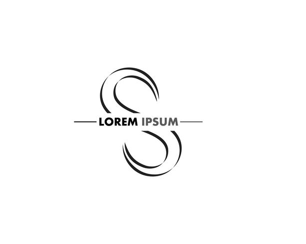 Diseño de logotipo de la empresa S carta corporativa