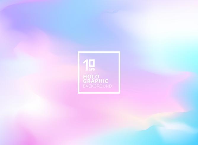 Astratto sfondo iridescente liscia. Lamina olografica vettore