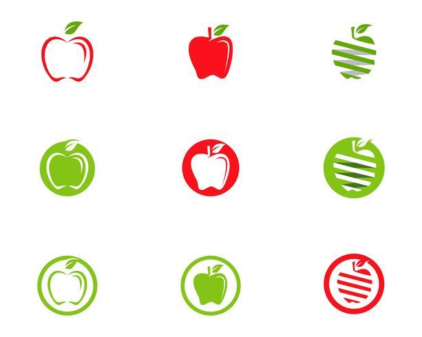 Projeto de ilustração vetorial de Apple