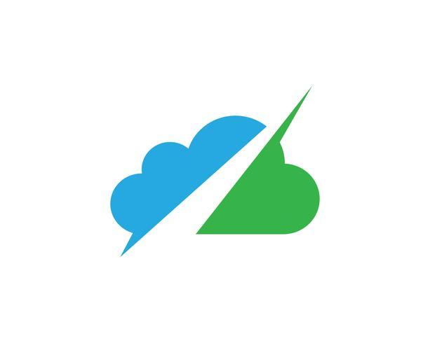 Cloud mall vektor
