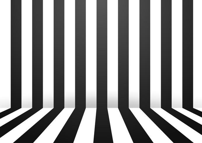 Fondo abstracto blanco y negro del sitio de la pared de la raya. Ilustracion vectorial vector