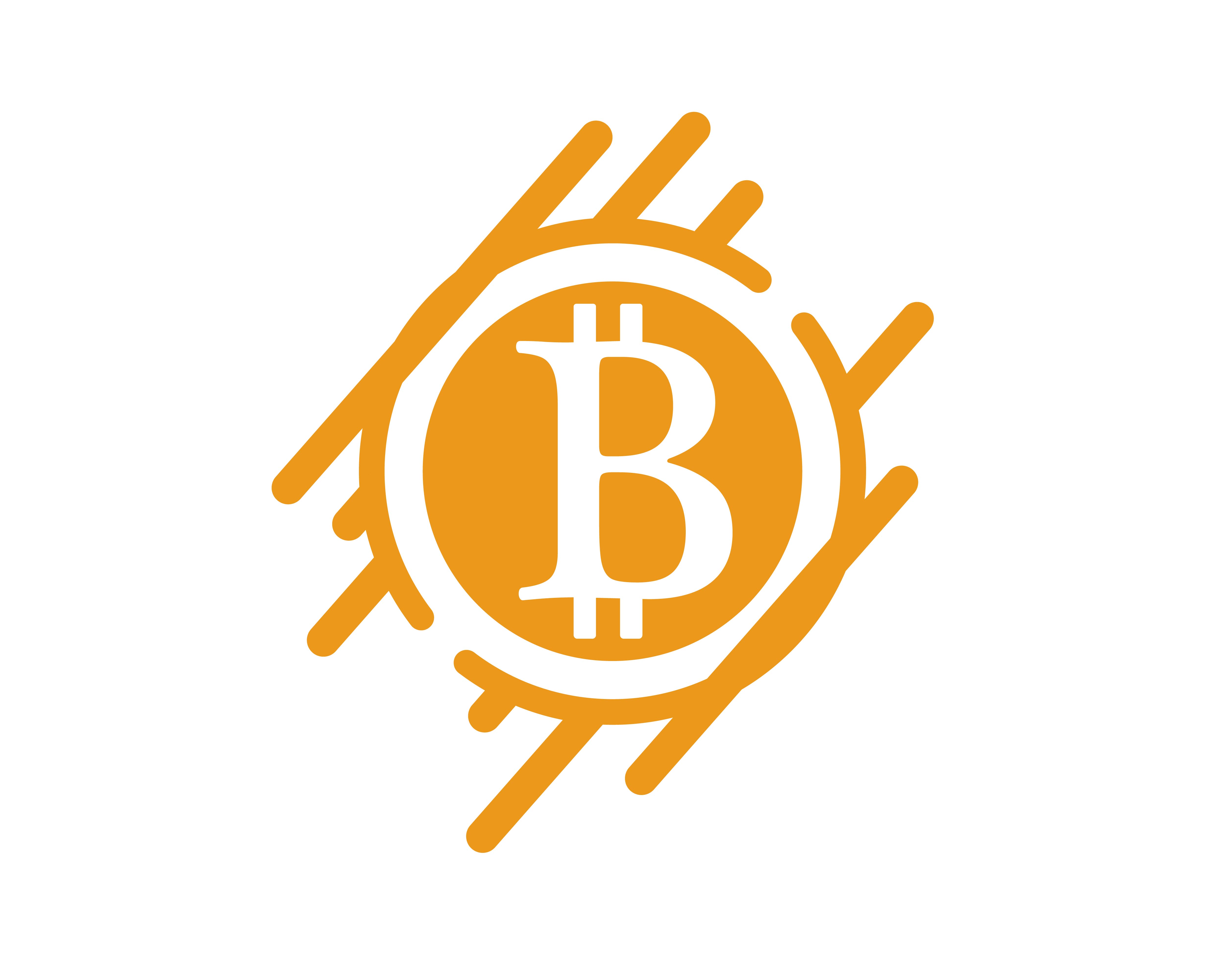 Bitcoin logo vector template - Download Free Vectors ...