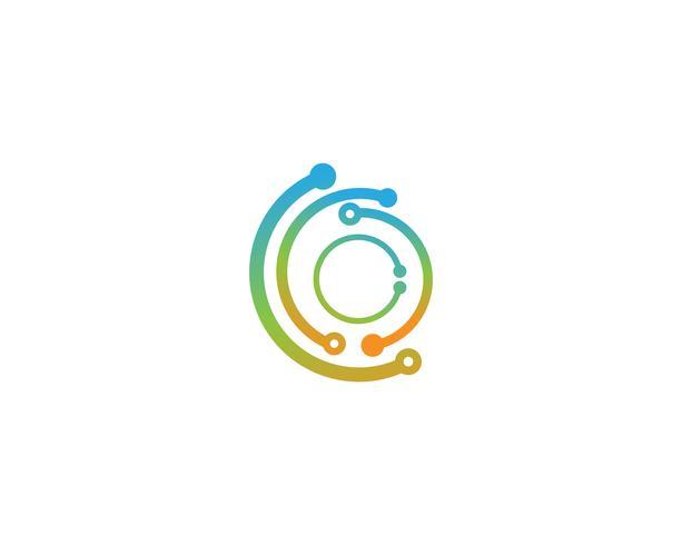 Icona di logo di tecnologia - vettori