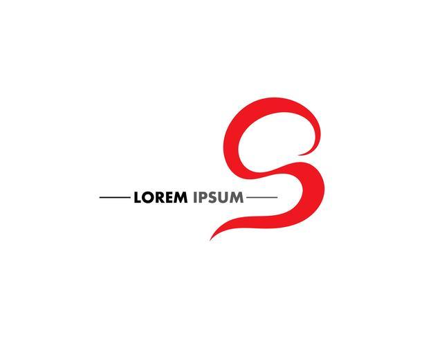 S Business corporate letter logo design