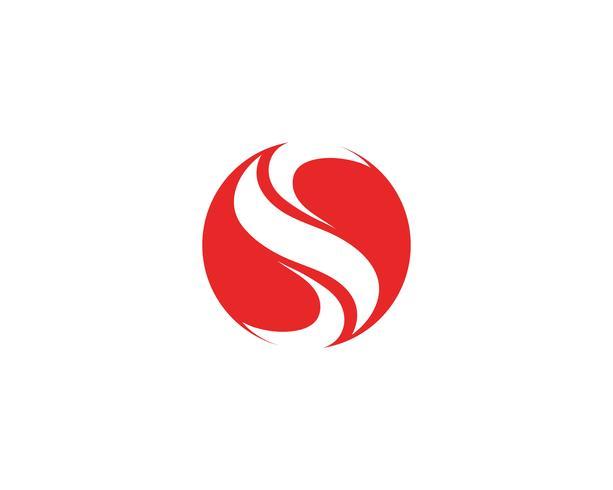 Företagsföretagets S-brevlogo vektor