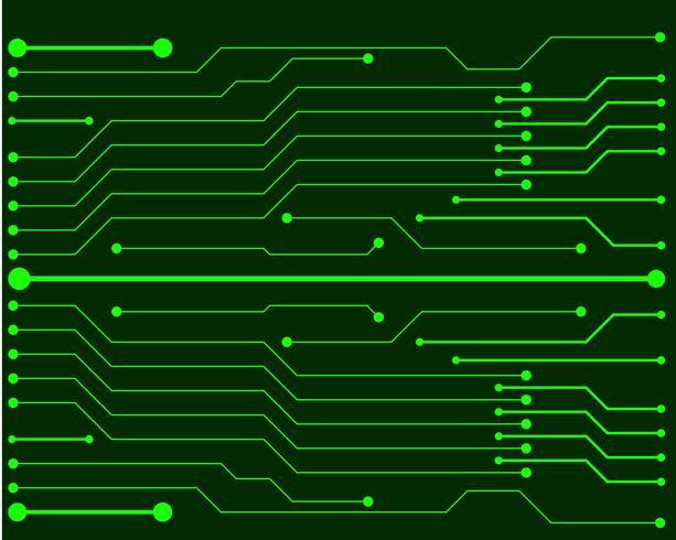 Vector circuit board illustration EPS10