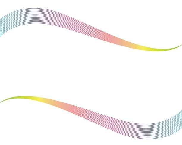 Onda línea abstrack vectores de fondo