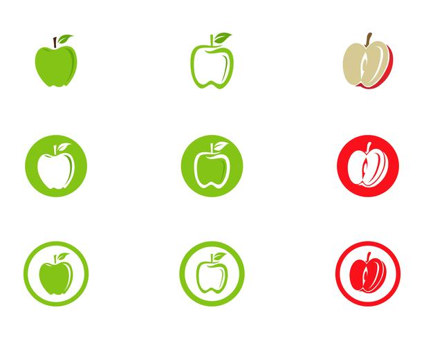 Apple vector illustratie ontwerp