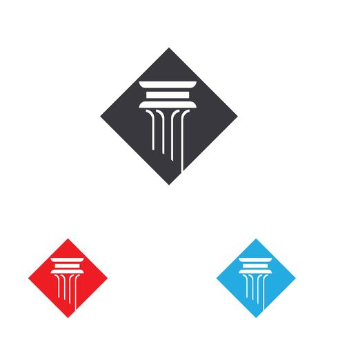 kolom Logo vector sjabloon