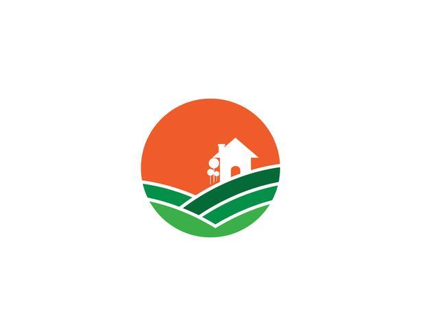 Boerderij vector landbouw