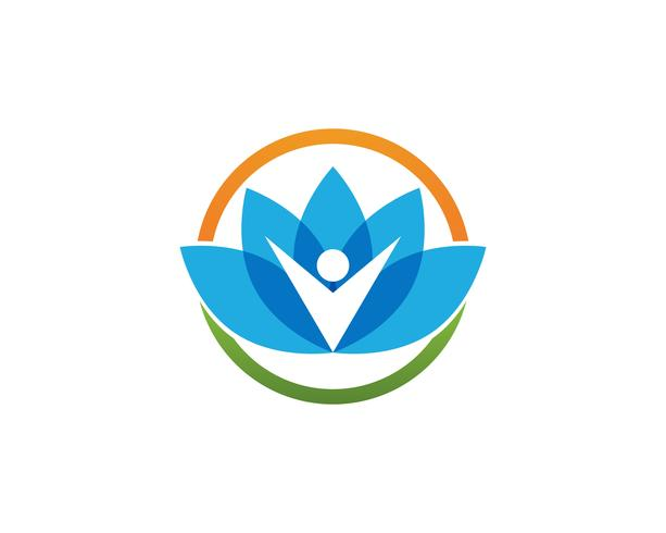 Skönhet vektor lotus ikon